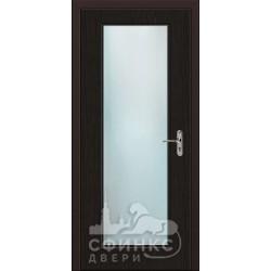 Входная дверь с зеркалом и шумоизоляцией 66-01