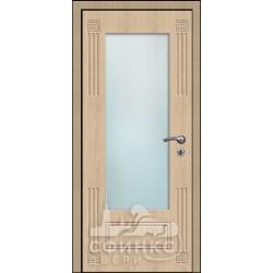 Входная дверь с зеркалом и шумоизоляцией 60-15