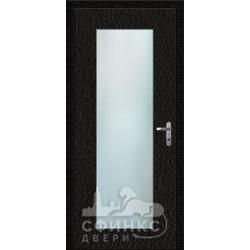 Входная дверь с зеркалом и шумоизоляцией 66-44
