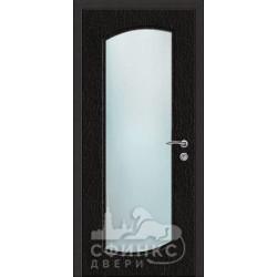 Входная дверь с зеркалом и шумоизоляцией 66-04