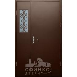 Входная металлическая дверь 64-77