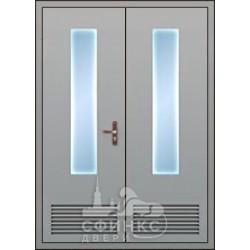 Входная металлическая дверь 58-81
