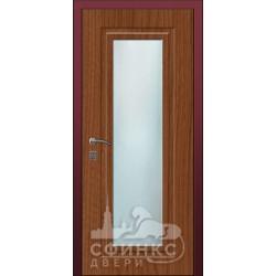 Входная дверь с зеркалом и шумоизоляцией 66-37