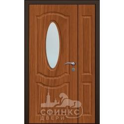 Входная дверь с зеркалом и шумоизоляцией 60-38