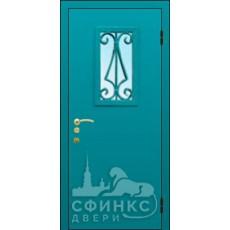 Металлическая дверь - 58-10
