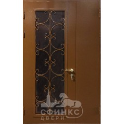 Входная металлическая дверь 64-49