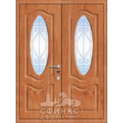 Входная металлическая дверь 58-74