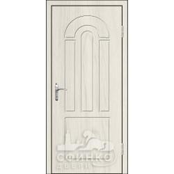 Входная дверь с зеркалом и шумоизоляцией 66-03