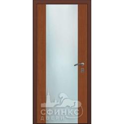 Входная дверь с зеркалом и шумоизоляцией 66-02