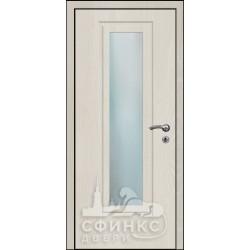 Входная дверь с зеркалом и шумоизоляцией 60-12