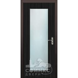 Входная дверь с зеркалом и шумоизоляцией 66-36