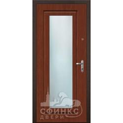 Входная дверь с зеркалом и шумоизоляцией 66-09