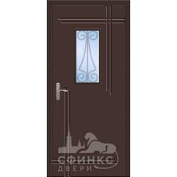Входная металлическая дверь 58-19