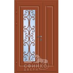 Входная металлическая дверь 58-58