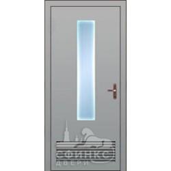 Входная металлическая дверь 58-25