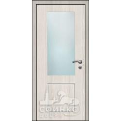 Входная дверь с зеркалом и шумоизоляцией 60-13