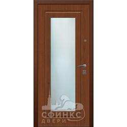 Входная дверь с зеркалом и шумоизоляцией 66-12