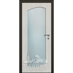 Входная дверь с зеркалом и шумоизоляцией 60-35