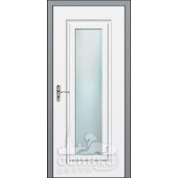 Входная дверь с зеркалом и шумоизоляцией 66-41