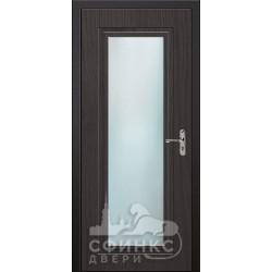 Входная дверь с зеркалом и шумоизоляцией 66-46
