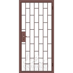 Входная металлическая дверь 001