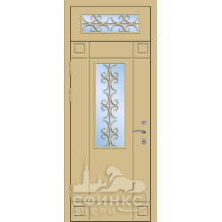 Входная металлическая дверь 58-38