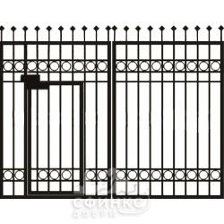Входная металлическая дверь 61-47